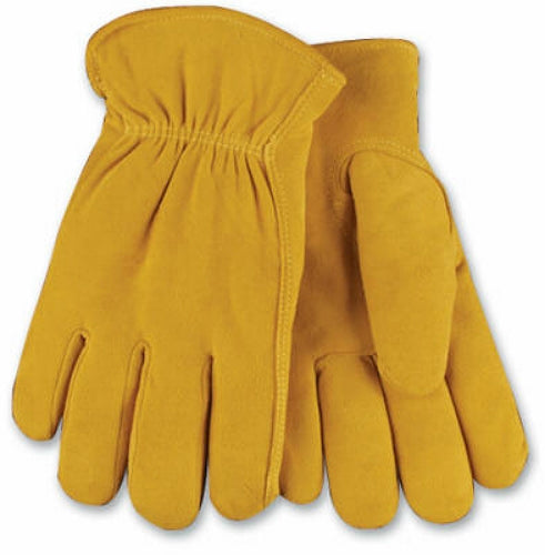 Kinco 903HK-XL Men's Full Suede Deerskin Leather Glove, Extra Large