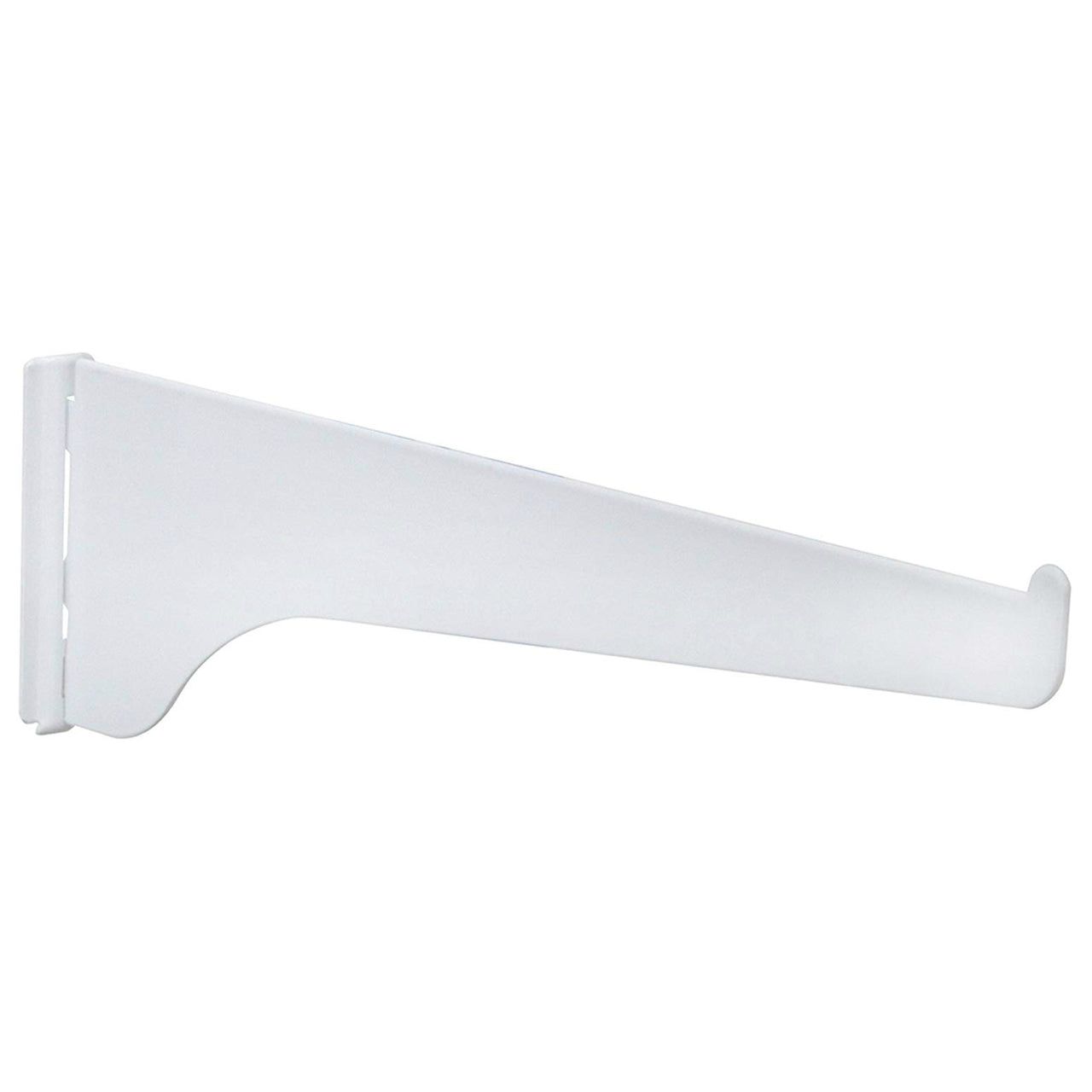 Knape & Vogt 180WH8 Shelf Standard Bracket,180-Series, White, 8""