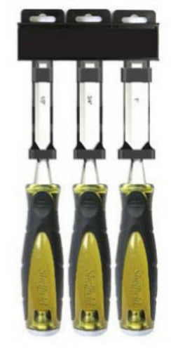Sheffield 490554 Professional Wood Chisel, 3-Piece
