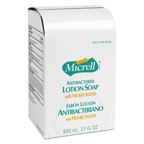 Gojo® 9756-06 Micrell® Antibacterial Lotion Soap with Moisturizers, 800ml Refill