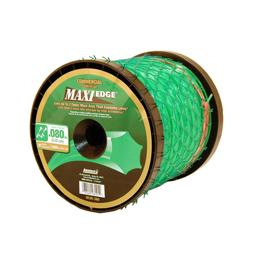 "Arnold® WLM-380 Maxi Edge Commercial Trimmer Line, Spool, 1152' x 0.080"", 57-Refills"