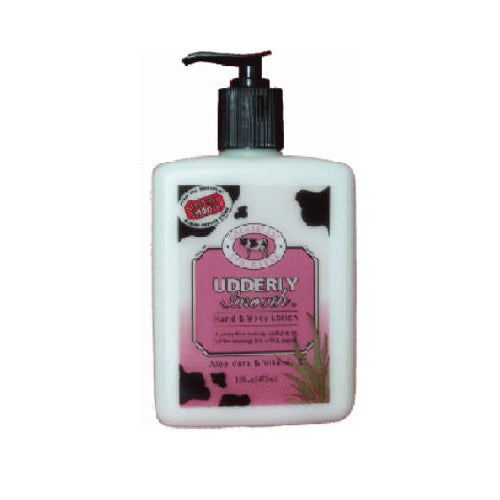 Udderly Smooth® 64210X12 Hand & Body Moisturizing Lotion for Dry Skin, 16 Oz