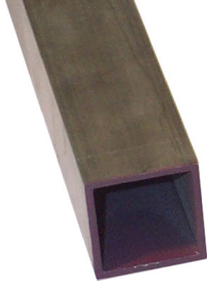 "SteelWorks 11736 Weldable Square Steel Tube, 1/2"" x 48"", 16 Gauge"