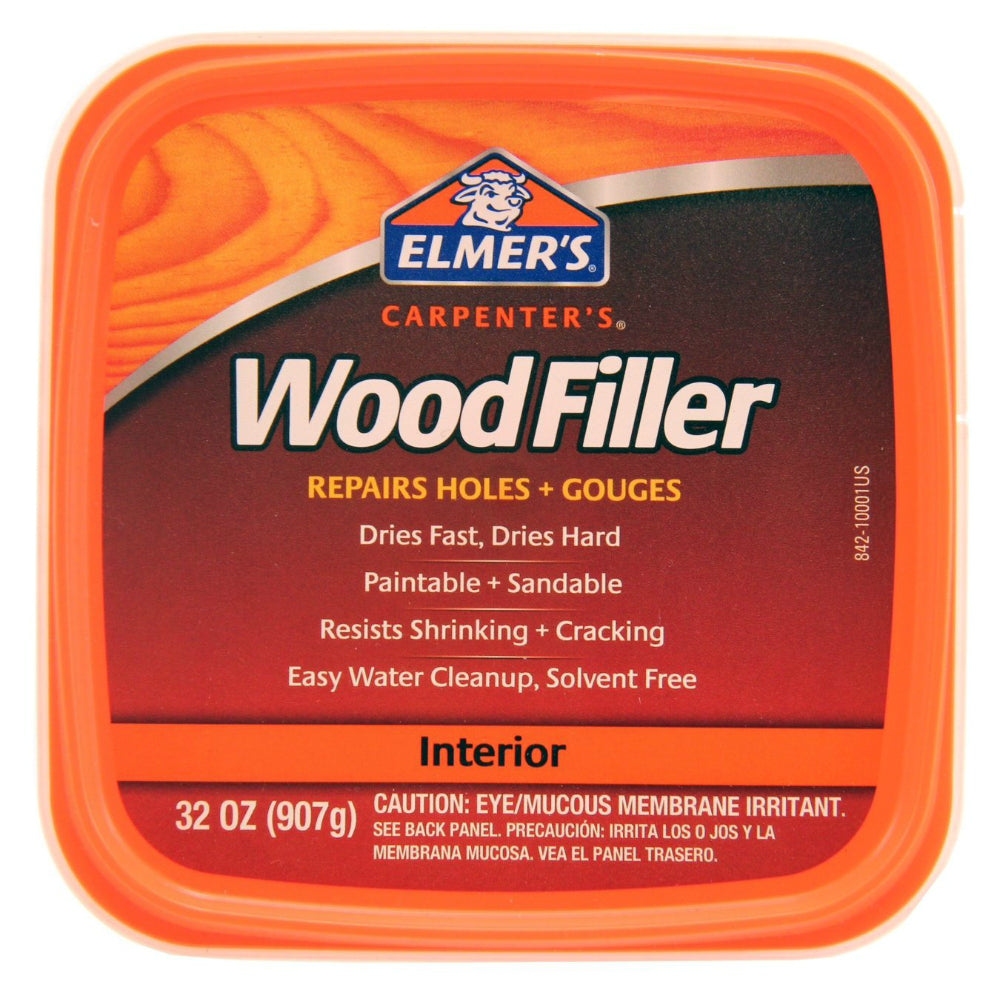 Elmer's E842L General Purpose Indoor Wood Filler, 1 Qt