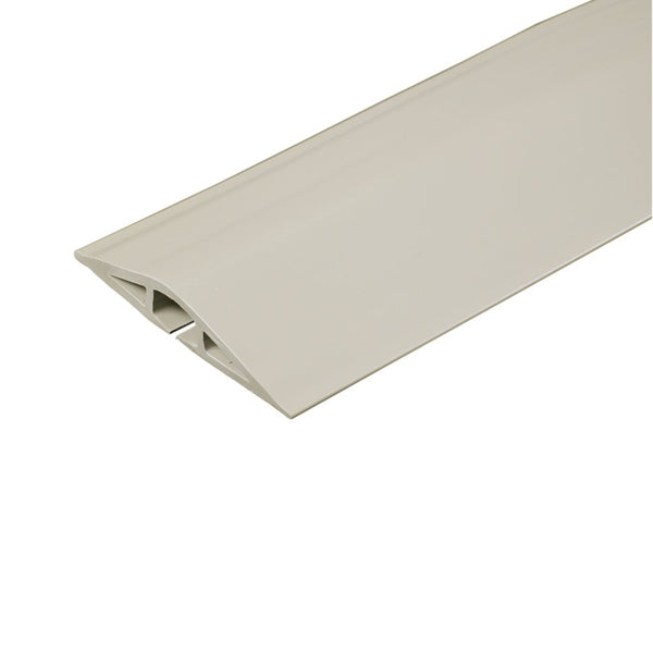 Wiremold® CDI-5 Corduct® Overfloor Cord Protector, 5', Ivory