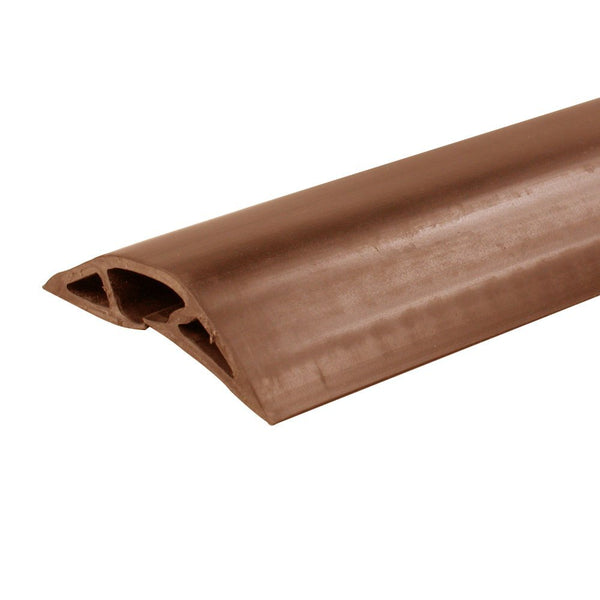 Wiremold® CDB-5 Corduct® Overfloor Cord Protector, 5', Brown