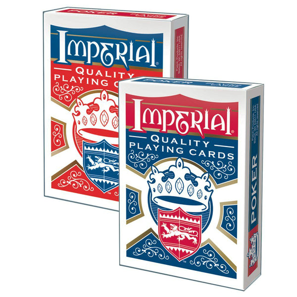Imperial® Products 1450 Poker Playing Cards, Assorted Deck Color