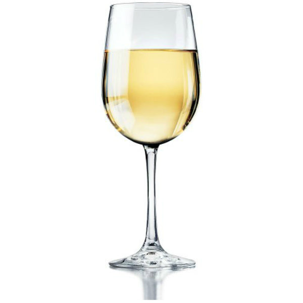 Libbey® Glass 89388 Vina White Wine Tall Goblet Set, 18.5 Oz, 6-Piece