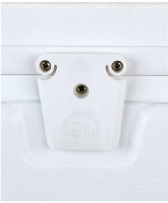 Igloo® 24013 Replacement Latch Set, White