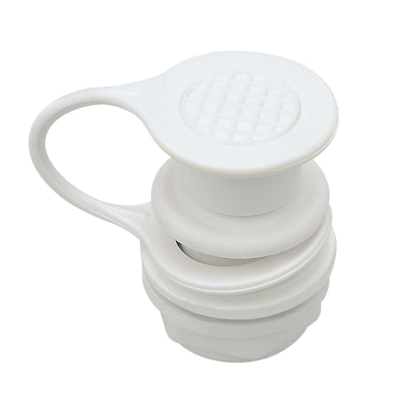 Igloo® 24010 Standard Drain Plug with Non-Threaded Push Caps, White