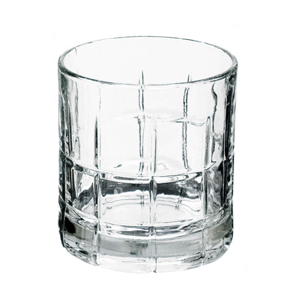 Anchor Hocking 68349 Manchester Tartan Crystal Rocks Glasses, 10.5 Oz