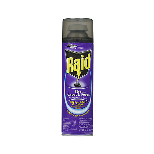 Raid® 01651 Flea Killer Plus Carpet & Room Spray, 16 Oz