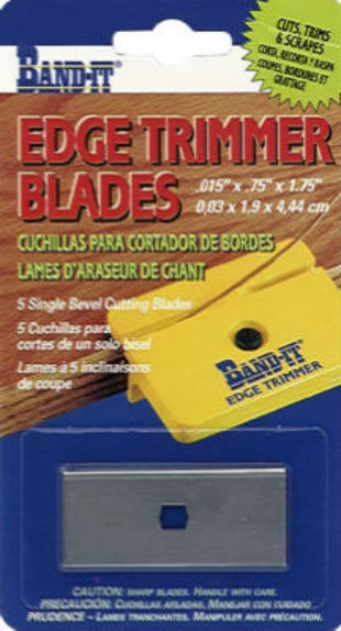 Band-IT® 25233 Replacement Edge Timmer Blades, 5-Pack