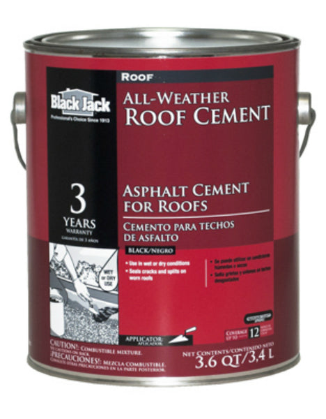 Black Jack® 6230-9-34 All-Weather Roof Cement, 3.6 Qt