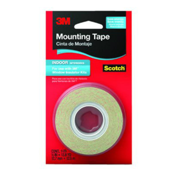 "Scotch 2145 Indoor Window Film Mounting Tape, 1/2"" x 500"""