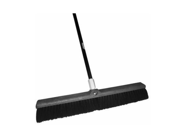 Quickie® BULLDOZER® 00594 Tampico Push Broom, 24""