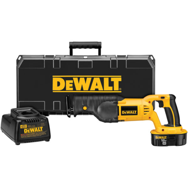 DeWalt® DC385K Cordless Reciprocating Saw Kit, 18.0V