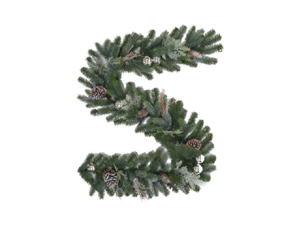 Holiday Wonderland® GT60P2045X00 Tacoma Frosted Garland, 6''