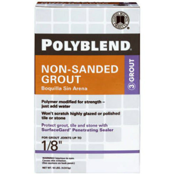 Polyblend® PBG1010 Non-Sanded Grout, #10 Antique White, 10 Lbs
