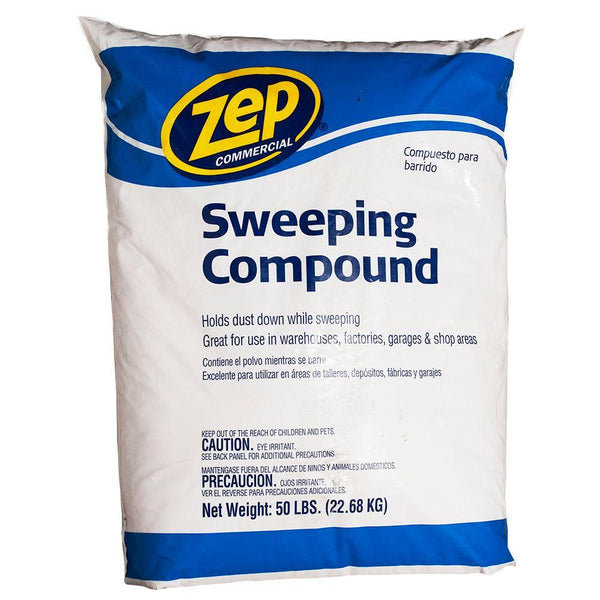 Zep Commercial® HDSWEEP50 Sweeping Compound, 50 Lb