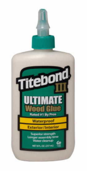 Titebond III 1413 Ultimate Wood Glue, 8 Oz