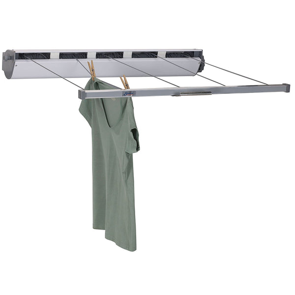 Household Essentials 15-7 Indoor/Outdoor 5-Line Retractable Clothesline, 170'