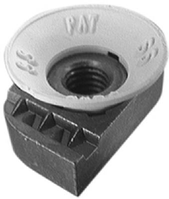 "Superstrut ZCM1001/4-10 Cone Nut 1/4""-20, 5-Pack"