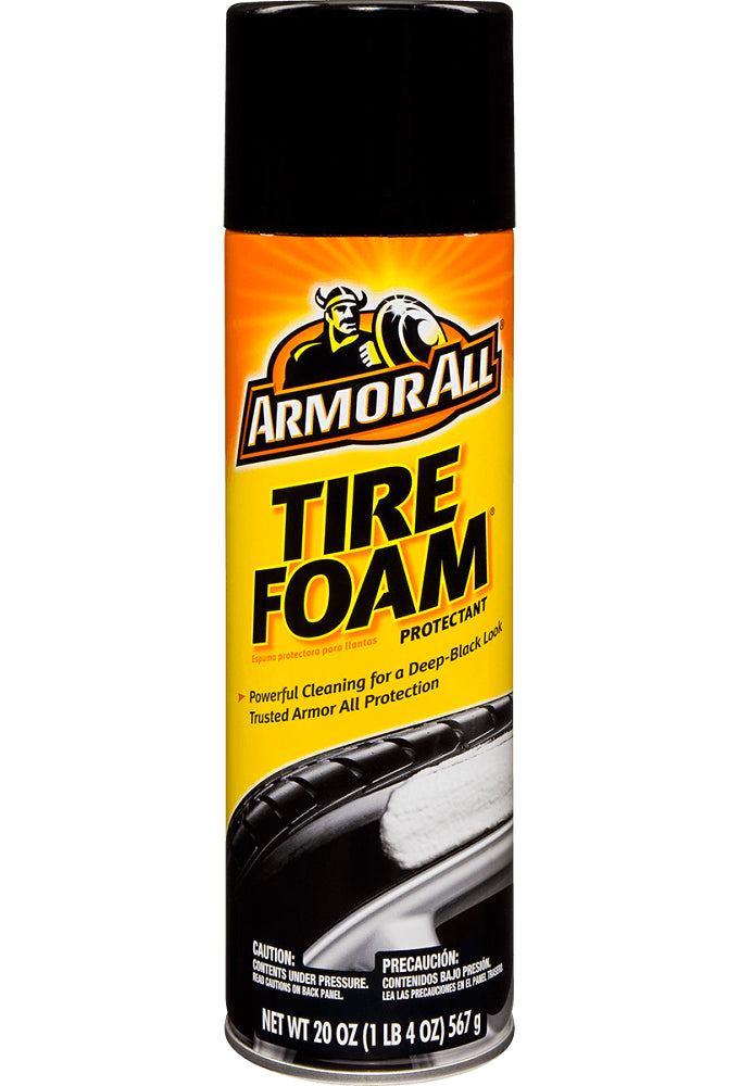 Armor All 40320 Tire Foam Protectant, 20 Oz