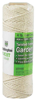 Wellington 12605 Garden Cotton Twine, 150'