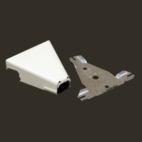 Wiremold® B-16 Metal Raceway T-Fitting, Ivory