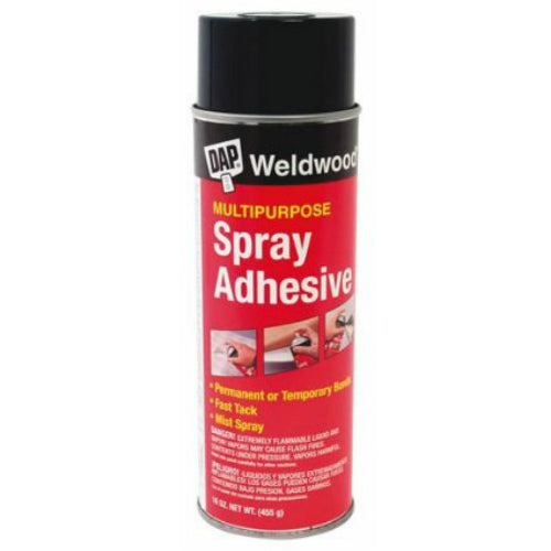 Dap® 00118 Weldwood® Multipurpose Spray Adhesive, 60 Oz, Clear