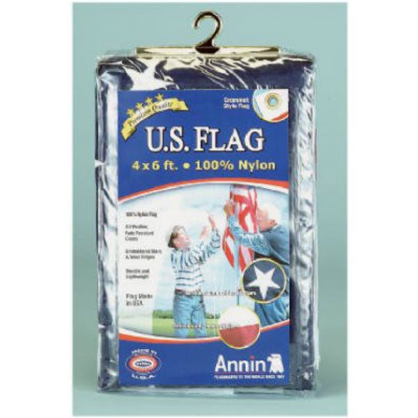 Annin Flagmakers 002215R Nylon Replacement Flag, 4' x 6'