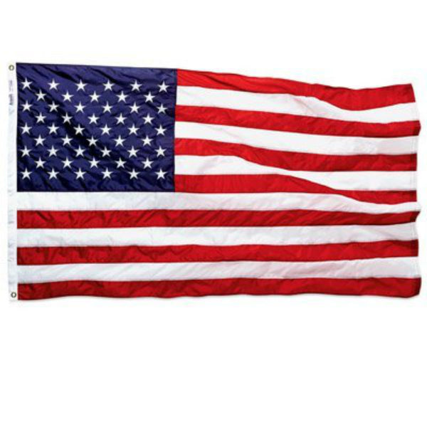 Annin Flagmakers 021850R Nylon Replacement Banner, 2-1/2' x 4'