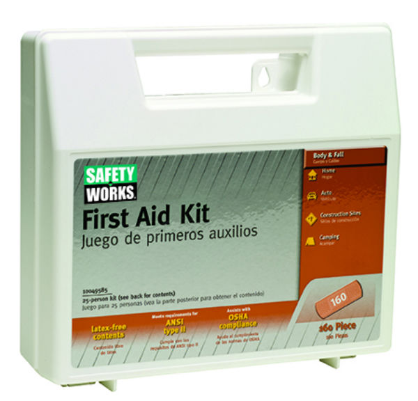 MSA Safety Works® 10049585 First Aid Kit, 160-Piece