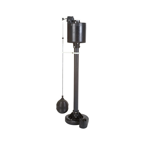 Master Plumber 540516 Column Sump Pump with Cast Iron Base for Stability, 1/2 HP