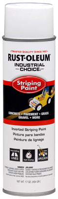 Rust-Oleum® 1691838 Industrial Choice® Inverted Striping Paint, 18 Oz, White