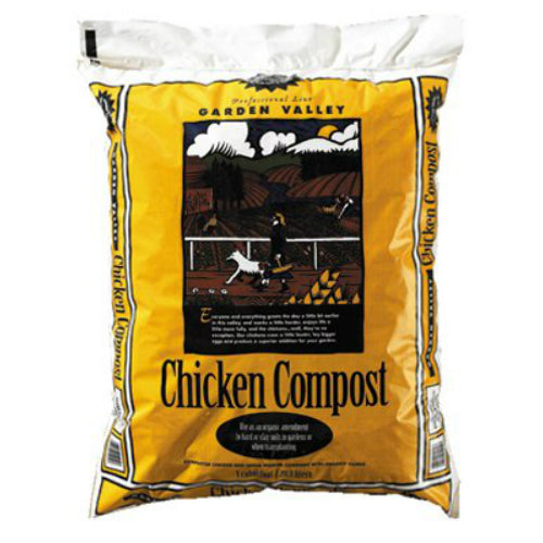 Garden Valley™ 0782GCC Chicken Compost, 1 Cu.Ft.