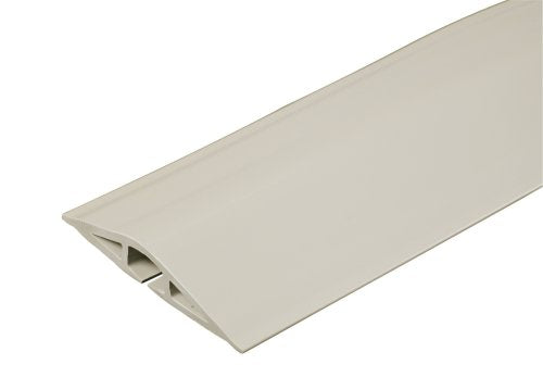 Wiremold® CDI-15 Corduct® Overfloor Cord Protector, 15', Ivory