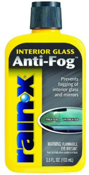 Rain‑X® AF21106D Interior Glass Anti-Fog™ Windshield Treatment, 3.5 Oz