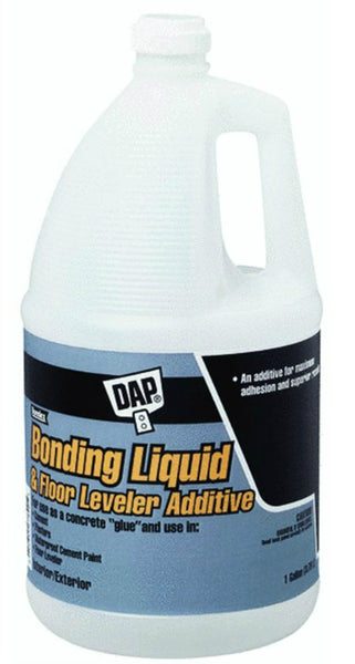 Dap® 35090 Bonding Liquid & Floor Leveler Additive, 1 Gallon, White