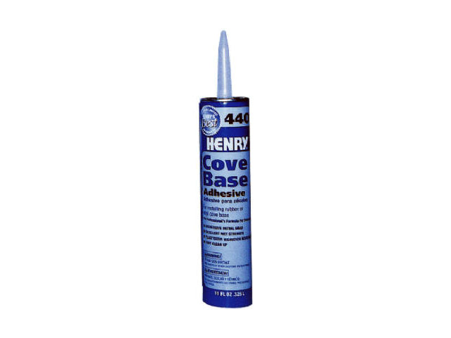 HENRY® 12105 Cove Base Adhesive, #440, 11 Oz
