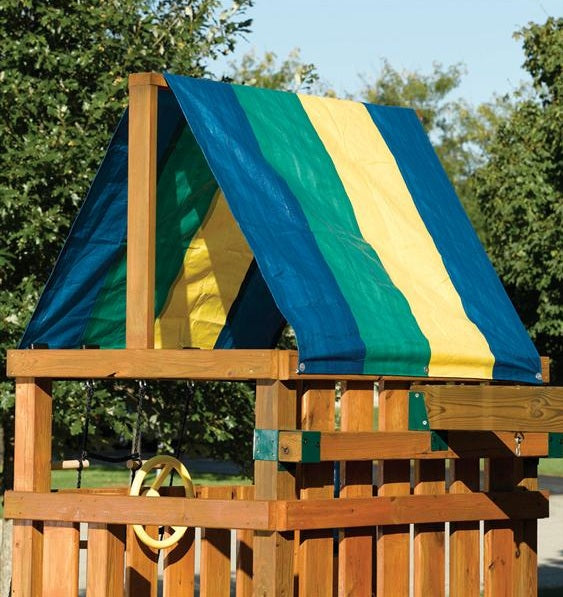 "Swing-N-Slide NE-4403 Multi-Color Replacement Tarp, 52"" x 90"""