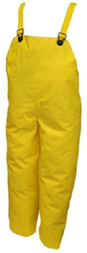 Tingley O56007-3X DuraScrim™ PVC Plain Front Overalls, XXXL, Yellow