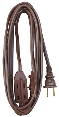 Master Electrician 09405ME Polarized Cube Tap Extension Cord, 13A, 20', Brown