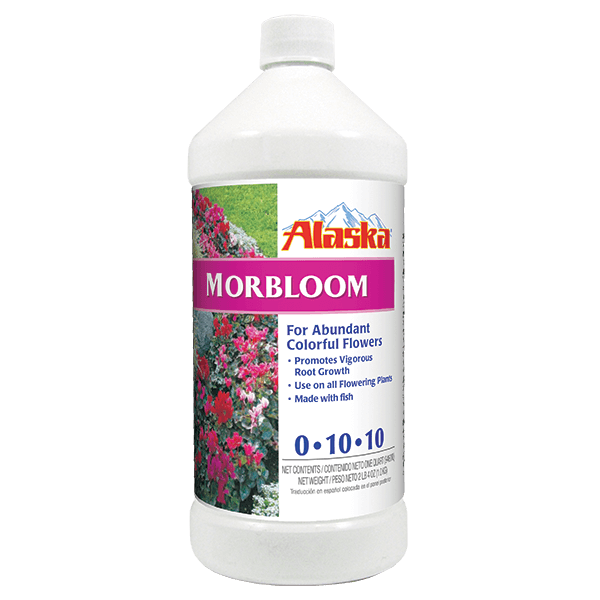 Alaska® 100099251 Concentrate Morbloom Fertilizer, 1 Qt, 0-10-10