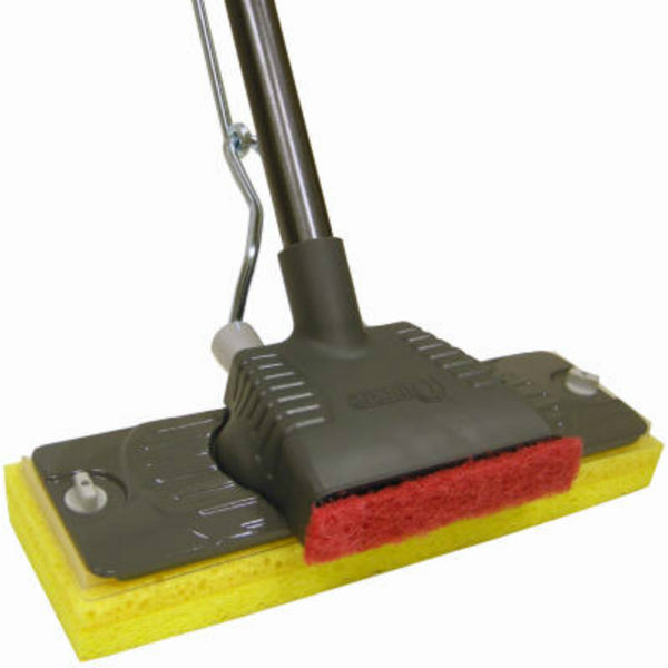 "Quickie 027-4 Professional Fused Cellulose Sponge Mop w/ 54"" Handle, 36 Sq.In."