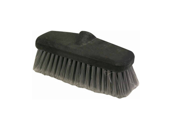 "Quickie® 231GM-14 Vehicle Wash Brush with Flow-Thru Handle, 8"" x 2.5"""
