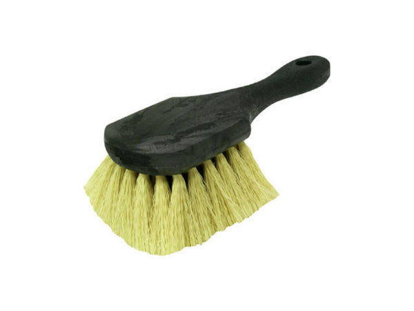 "Quickie® 246 Natural Tampico Fibers Gong Brush, 8-1/2"" Handle"