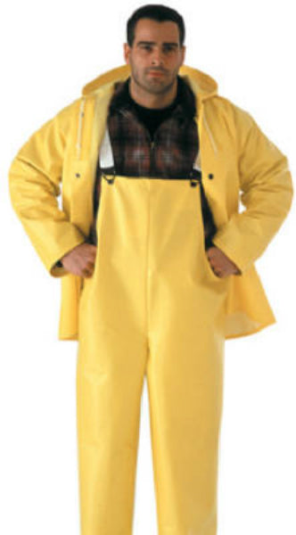Tingley S53307-XL Industrial Work Polyester Overall Suit, XL, Yellow