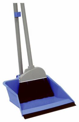 Quickie® 429 HomePro® Flip Lock Dust Pan & Lobby Broom